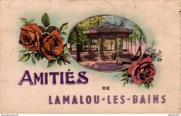 847-2019      AMITIES DE LAMALOU LES BAINS - Lamalou Les Bains