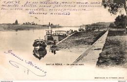 1092-2019    LA REOLE   UN COIN DU PORT - La Réole