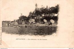 1114-2019   ARCACHON  LE CHATEAU VU DU BASSIN - Arcachon