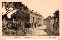1186-2019   CAMPAGNAC   LA GENDARMERIE - Autres Communes