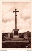 1189-2019  CAMPAGNARD   MONUMENT AUX MORTS - Autres Communes