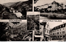 1201-2019     SOUVENIR D ENTRAYGUES  VUES DIVERSES - Autres Communes