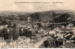 1206-2019    VILLEFRANCHE DE ROUERGUE   VUE GENERALE - Villefranche De Rouergue