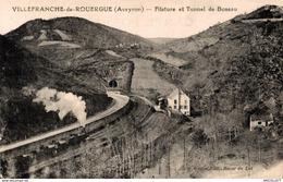 1207-2019    VILLEFRANCHE DE ROUERGUE  FILATURE ET TUNNEL DE BOSEAU - Villefranche De Rouergue