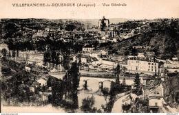 1208-2019    VILLEFRANCHE DE ROUERGUE    VUE GENERALE - Villefranche De Rouergue
