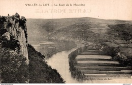1210-2019   VALLEE DU LOT  LE SAUT DE LA MOUNINE - Autres Communes