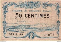 1251-2019     CHAMBRE DE COMMERCE D ALAIS 50 CENTIMES - Camera Di Commercio
