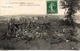 5501 -2019  CAMP DU LARZAC    APRES LE COMBAT LES BLESSES - Autres Communes