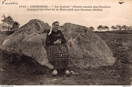5576 -2019      LOCRONAN   LA JUMENT ( PIERRE SACREE DES DRUIDES) - Locronan