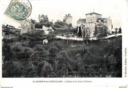 5689 -2019   ST GERMAIN DE CONFOLENS   L EGLISE ET LE VIEUX CHATEAU - Autres Communes
