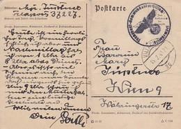 Feldpost Villach Nach Wien - Transport-Kommandantur Villach - 1941 (41552) - Allemagne