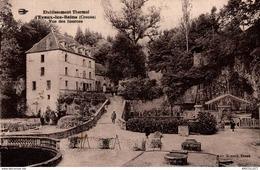 5728 -2019      EVAUX LES BAINS  ETABLISSEMENT THERMAL    VUE DES SOURCES - Evaux Les Bains