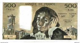 7655-2019   LOT DE 4  BILLETS  DE BANQUE FRANCAIS - Francia