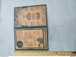 7578-2019  CALENDRIER 1936 PETIT MODELEPHARMACIE CACHET GENNEAU - Calendari