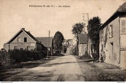 9386-2018      FILLIEVRES  RUE D HESDIN - Francia