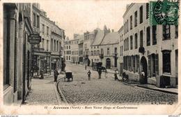 9476  -2018   AVESNES   RUE VICTOR HUGO ET CAMBRESIENNE - Avesnes Sur Helpe