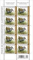 BUZIN 4671** Waterral / Râle D'eau** Velletje Met 10 Zegels Voor Aangetekende Zendingen - Recommandée - Feuille Complete - 1985-.. Oiseaux (Buzin)