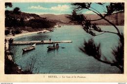 9818  -2018     REVEL   LE LAC ET LE PONTON - Revel
