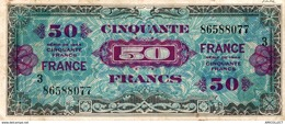 9857  -2018   BILLET FRANCAIS 50F  VERSO FRANCE  SERIE DE 1944     3 - Francia