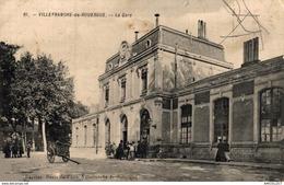 9979  -2018       VILLEFRANCHE DE ROUERGUE   LA GARE - Villefranche De Rouergue