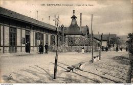 9982  -2018    CAPDENAC  COUR DE LA GARE - Autres Communes