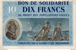 04-2019   BON DE SOLIDARITE DE 10 FRANCS - Andere