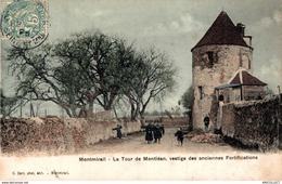 23-2019    MONTMIRAIL   LA TOUR DE MONTLEAN   VESTIGE DES ANCIENNES FORTIFICATIONS - Autres Communes