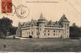 29-2019  LE CHATEAU DE LOC DIEU PRES VILLEFRANCHE DE ROUERGUE - Autres Communes