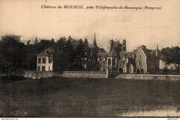 38-2019   CHATEAU DU GOUZOU PRES VILLEFRANCHE DE ROUERGUE - Autres Communes