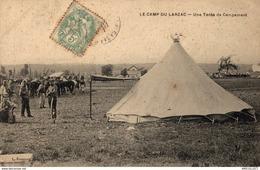 43-2019    CAMP DU LARZAC   UNE TENTE DE CAMPEMENT - Autres Communes