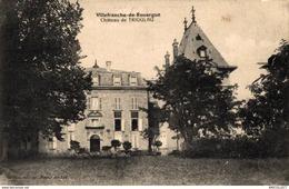 46-2019   VILLEFRANCHE DE ROUERGUE   CHATEAU DE TRIOULAU - Villefranche De Rouergue