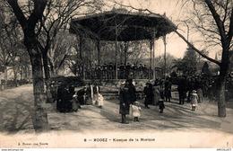 52-2019    RODEZ   KIOSQUE DE LA MUSIQUE - Rodez
