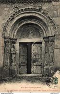 187-2019  ST BERTRAND DE COMMINGES  PORTE DE L EGLISE DE VALCABRERE - Saint Bertrand De Comminges