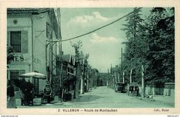 314-2019     VILLEMUR   ROUTE DE MONTAUBAN - Francia