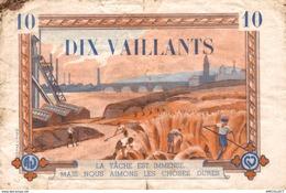 379-2019    BILLET FRANCAIS 10 VAILLANTS  SCOUTISME - Andere