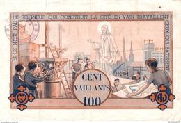 380-2019    BILLET FRANCAIS 100 VAILLANTS  SCOUTISME - Andere
