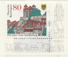 PIA - GER- 1994 : Millenario Della Città Di  Quedlinburg -  (Yv 1597) - [7] Repubblica Federale