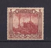 Saarland - 1922 - Michel Nr. 97 - Ungebr. - 30 Euro - 1920-35 Société Des Nations