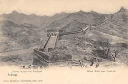 CPA CHINE GREAT WALL NEAR NANKOW - China