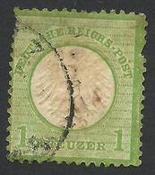 Germany, 1 Kr. 1872, Sc # 7, Mi # 7, Used - Gebraucht