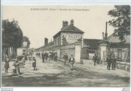Réf 73-2018   LIANCOURT  SORTIE DE LUSINE BAJAC - Liancourt