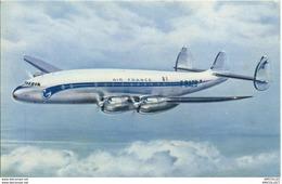 REF484-2018    LOCKHEED CONSTELLATION APPAREIL  LONG COURRIER - Aviones