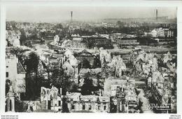 REF 1035-2018 CAEN JUIN-JUILLET 1944 ENSEMBLE VERS LE CANAL ET LE BASSIN AFLOT - Caen