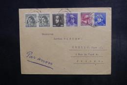 TCHÉCOSLOVAQUIE - Enveloppe De Kromeriz Pour La France En 1945, Affranchissement Plaisant - L 40672 - Cartas