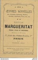 REF1277-2018 CATALOGUE DE PRIX INSTRUMENTS DE MUSIQUE 1913 - Libri, Riviste, Fumetti