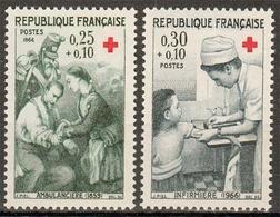 Frankreich MiNr. 1568/69 ** Rotes Kreuz - Frankreich