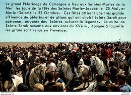 REF 2772-2018    PELERINAGE DES SAINTES MARIES DE LA MER - Saintes Maries De La Mer