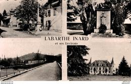 REF 3275 -2018 LABARTHE INARD ET SES ENVIRONS VUES MULTIPLESCHATEAUX DE  MONTESPON ET CRABARRET - Autres Communes