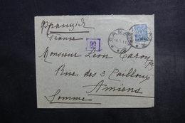 RUSSIE - Enveloppe Pour La France En 1917, Affranchissement Plaisant - A Voir - L 40676 - Briefe U. Dokumente