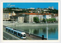 FRANCIA  LYON         TRAIN- ZUG- TREIN- TRENI- GARE- BAHNHOF- STATION- STAZIONI  2 SCAN (NUOVA) - Treni